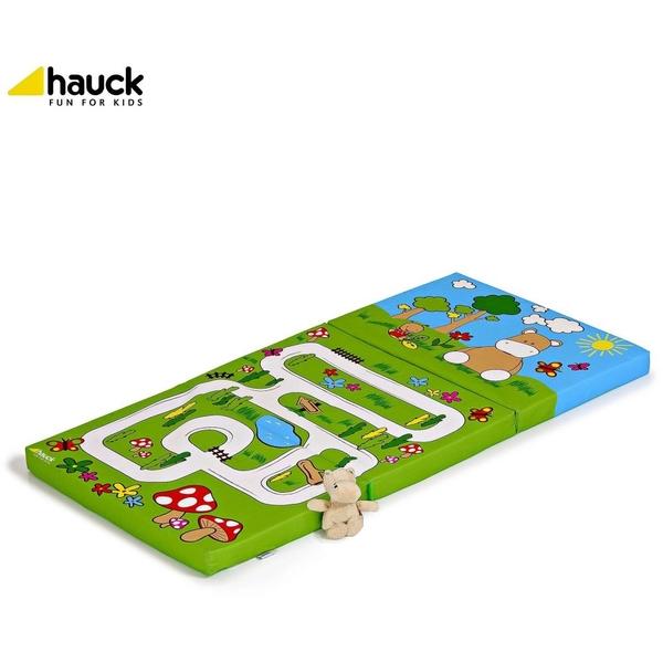 Hauck - Reisebettmatratze Sleeper, Hippo green