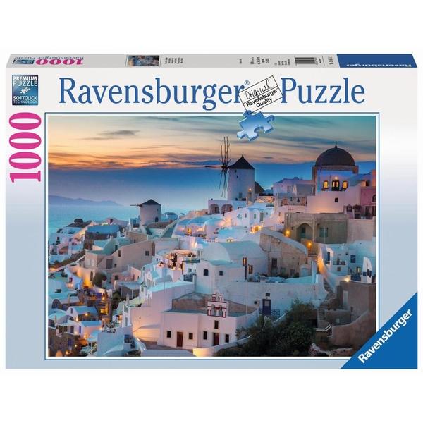 Ravensburger - Puzzle: Abend über Santorini, 1000 Teile