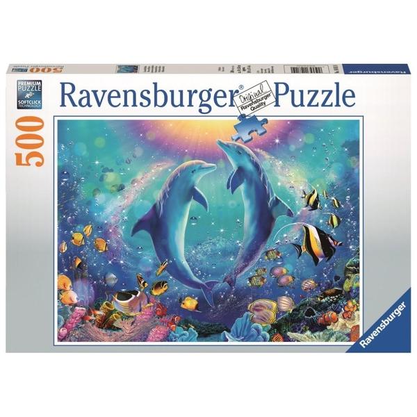 Ravensburger - Puzzle: Tanz der Delphine, 500 Teile