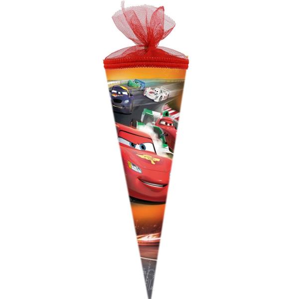 Schultüte - Disney Cars, 35 cm, Tüll