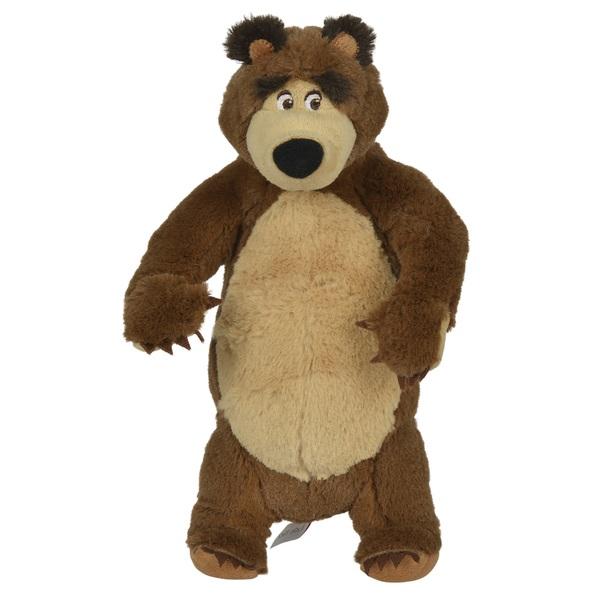 Simba - Mascha und der Bär: Bär stehend oder sitzend, ca. 25 cm