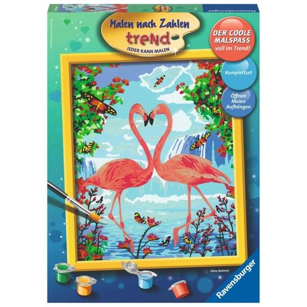 Ravensburger - Malen nach Zahlen: Flamingo Love