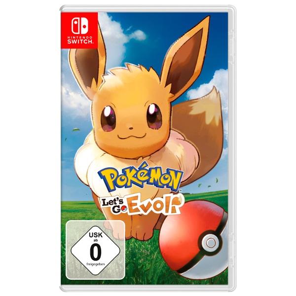 Nintendo - Switch: Pokémon Let's Go, Evoli!