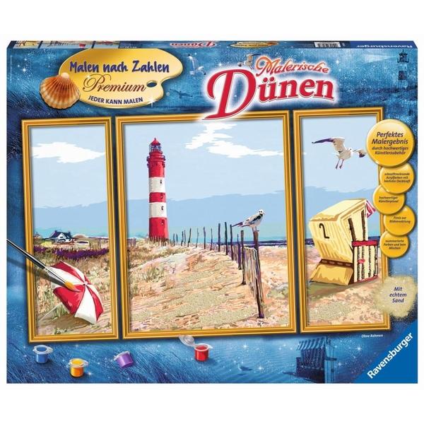 Ravensburger - Malen nach Zahlen Premium: Malerische Dünen