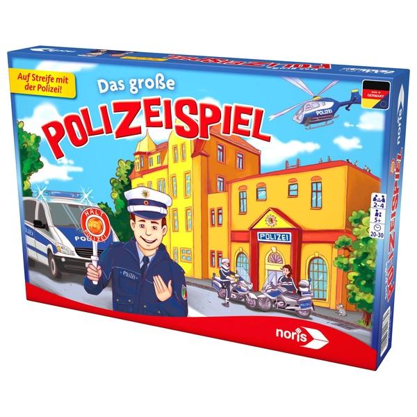 Noris Das Große Polizeispiel Kinderspiele Bis 5 Jahre Deutschland
