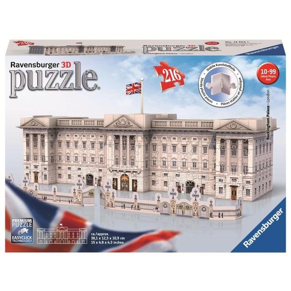 Ravensburger - 3D Puzzle: Buckingham Palace, 216 Teile