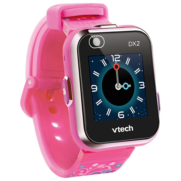 VTech - Kidizoom Smart Watch DX2, pink mit Blumenmuster