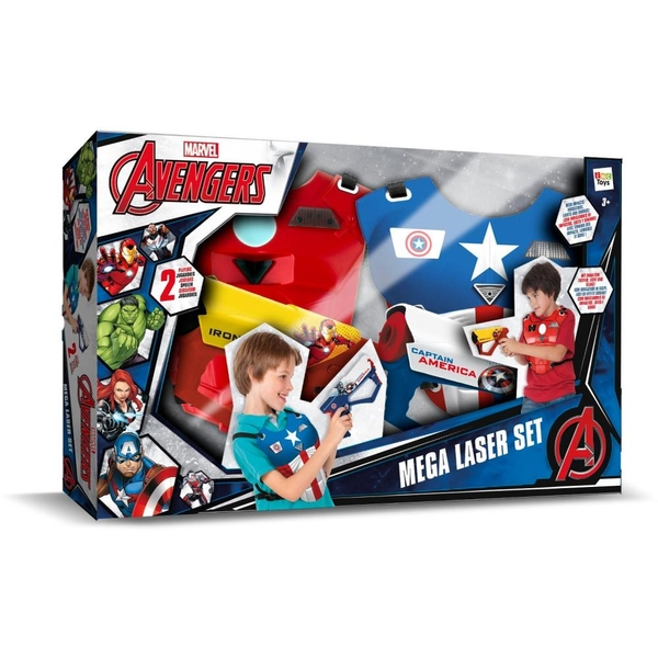 Marvel - The Avengers: Mega-Laser-Set