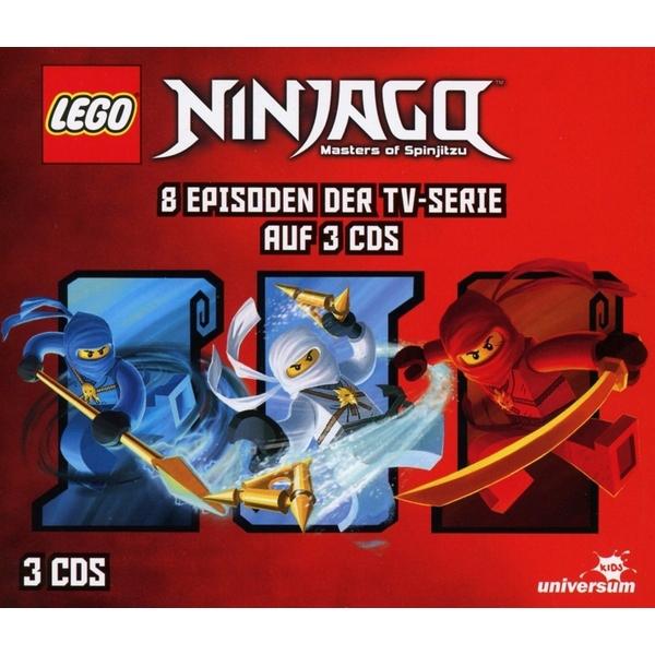 CD Hörspiel - LEGO Ninjago: Hörspiel-Box 1