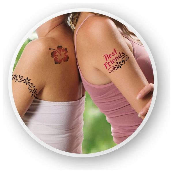 Revell - Orbis Airbrush: Tattoo-Set, Blumen