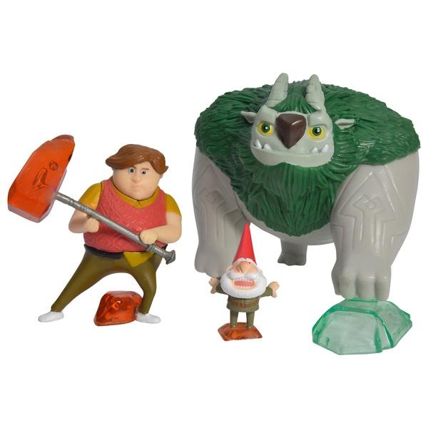 Trolljäger - Figurenset Toby, AAARRRGGHH!!! & Gnome