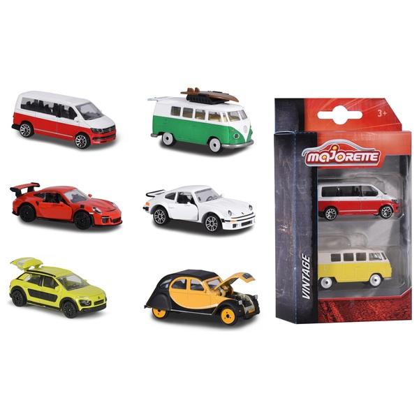 Majorette - Vintage Fahrzeuge, 2-tlg., sortiert