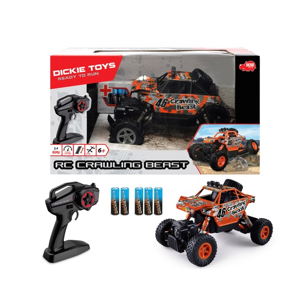 Dickie Toys - RC Crawling Beast, RTR