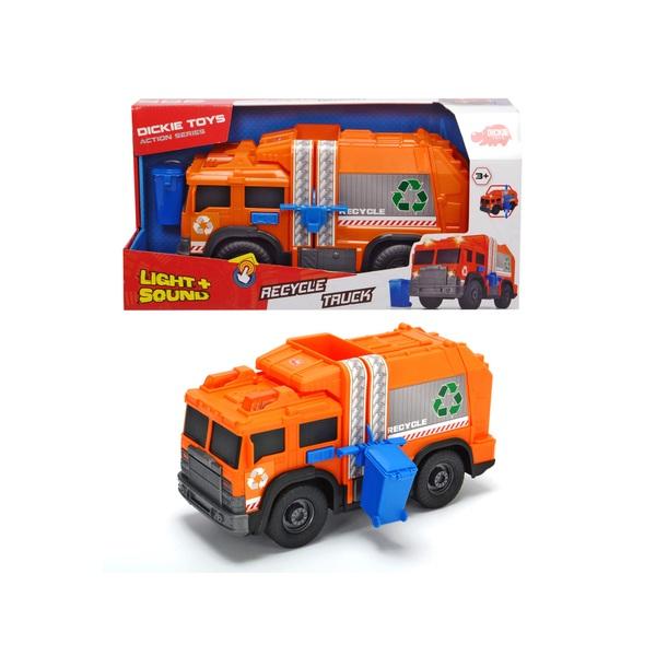 Dickie Toys - Recycle Truck mit Licht und Sound