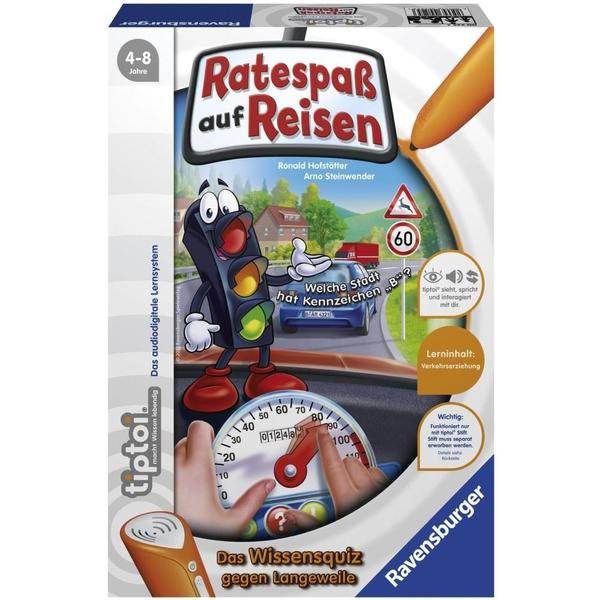 Ravensburger - tiptoi Lernspiel: Ratespaß auf Reisen