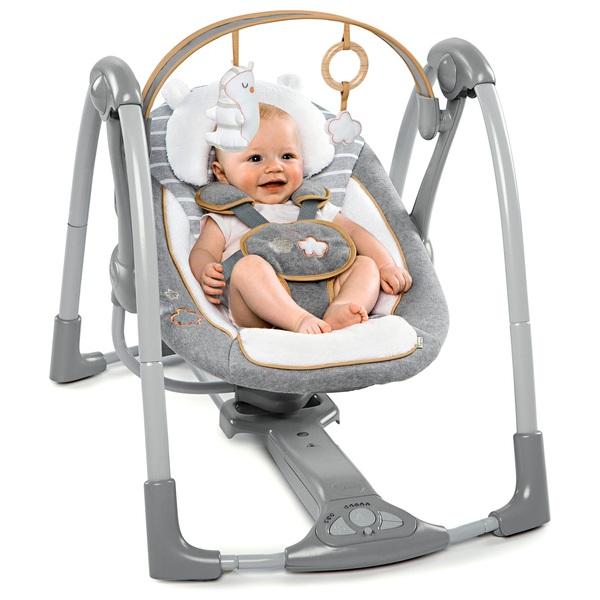 Ingenuity - Portable Babyschaukel, Boutique Collection