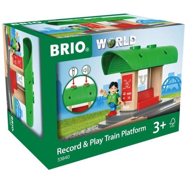 BRIO - Bahnhof mit Aufnahmefunktion