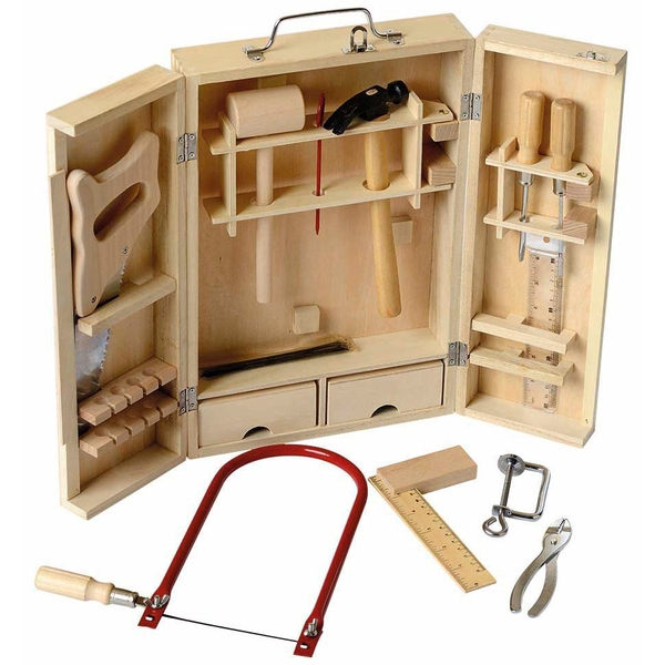 Beluga - Werkzeugkoffer aus Holz