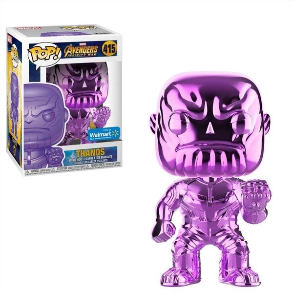Marvel - The Avengers: POP! Vinylfigur, Thanos Chrom-Lila
