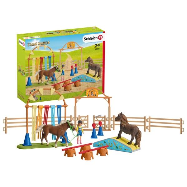Schleich - 42481 Pony-Agility-Training