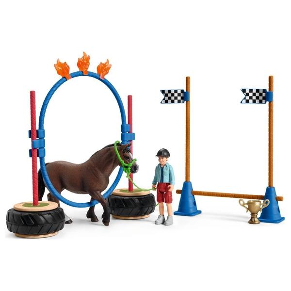 Schleich - 42482 Pony Agility Rennen