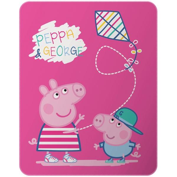 Peppa Pig Decke 110x140 Cm Bettwäsche Schweiz