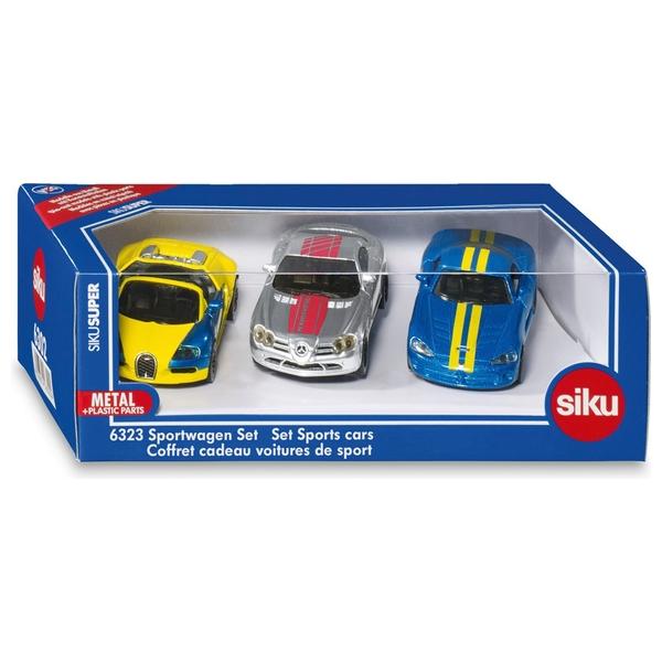 SIKU Super - Geschenkset Sportwagen