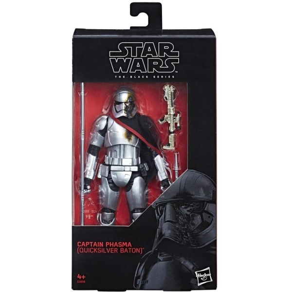 Star Wars - Black Series: Figur, Captain Phasma, ca. 15cm