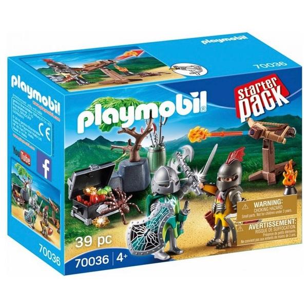 PLAYMOBIL - 70036 Starterpack Kampf um den Ritterschatz