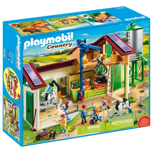 Afholte PLAYMOBIL - 70132 Großer Bauernhof mit Silo - PLAYMOBIL Country PY-29