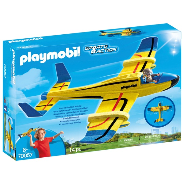 PLAYMOBIL - 70057 Wurfgleiter Wasserflugzeug