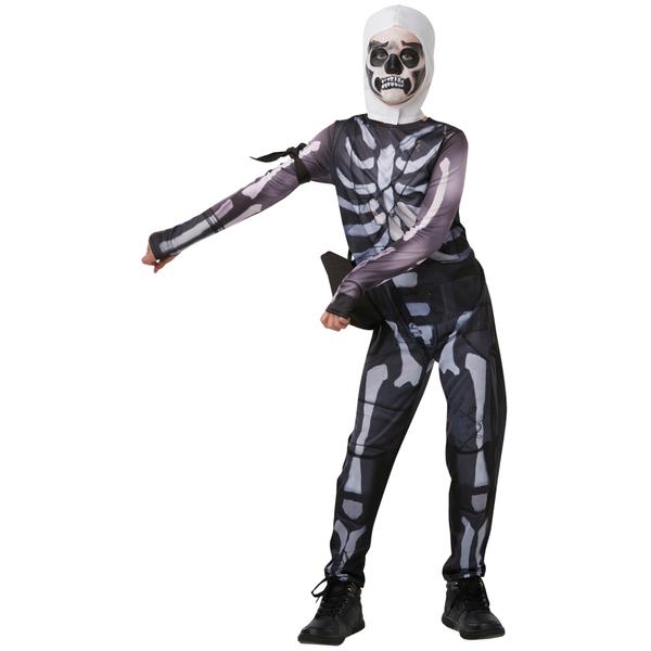 Rubies - Kinderkostüm: Fortnite: Skull Trooper