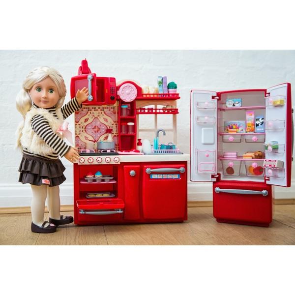 Our Generation Gourmet Kitchen Toy Set - Kitchen Cabinets