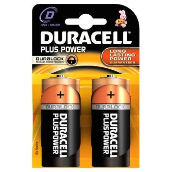 Duracell Plus D Size 2 Pack Batteries