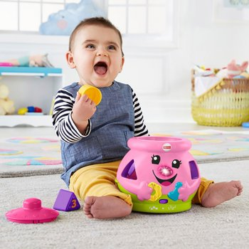 Fisher-Price Laugh & Learn Cookie Shape Pink