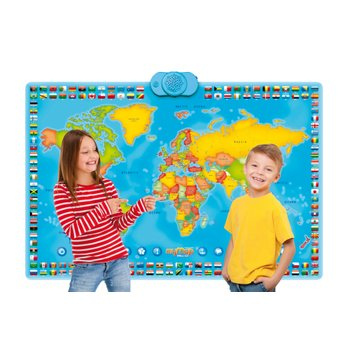 Interactive My Map World Talking Poster