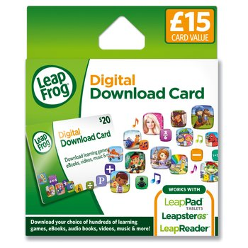 115960: LeapPad & Leapster Explorer App Download Card £