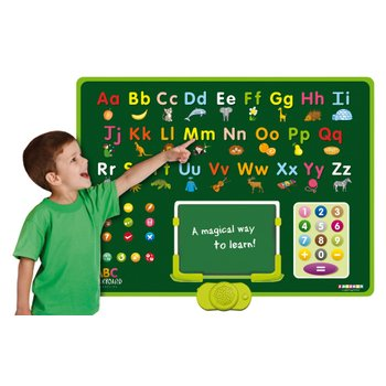 Interactive Talking ABC Board