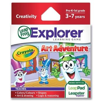 LeapFrog Explorer: Crayola Art Adventure