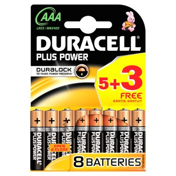 125421: Duracell AAA Batteries 5+3 Free