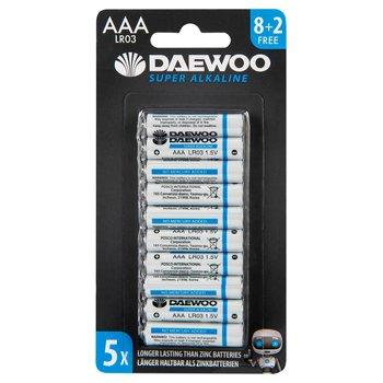 Daewoo AAA Alkaline 10 pack Batteries