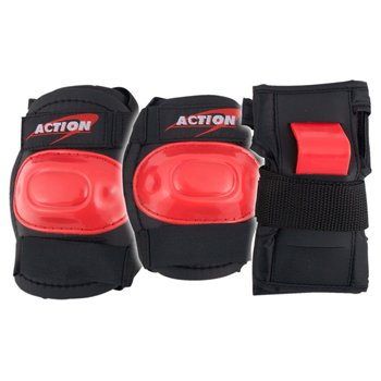 Skate Knee, Elbow And Wrist Pads Red Small