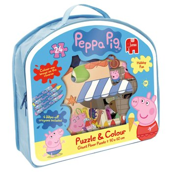 Peppa Pig 24 Piece Giant Puzzle Colour Jigsaw