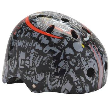 135519: Black Skull Skate Helmet 55-58cm