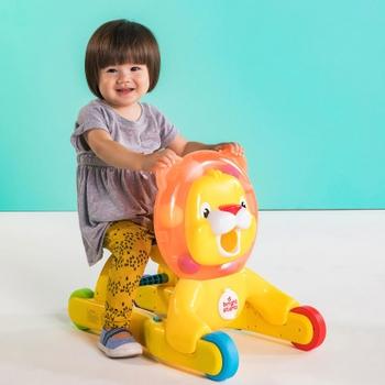 136174: Bright Starts 3-in-1 Step & Ride Lion