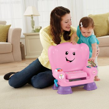 Fisher Price Laugh & Learn Smart Stage Chair Pink
