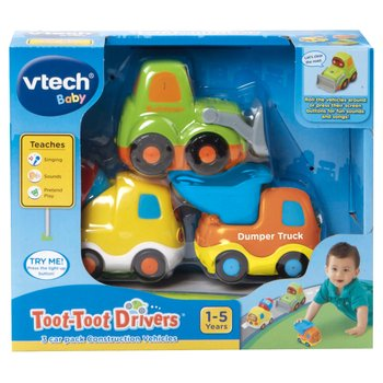 Toot-Toot Drivers 3 Car Pack Construction Vehicles