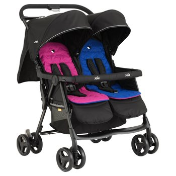 Joie Aire Twin Stroller Blue Pink