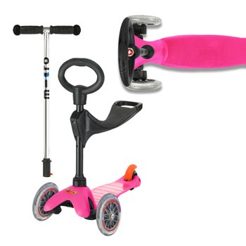 Mini Micro 3-in-1 Pink Scooter