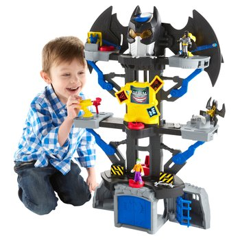 Fisher-Price Imaginext DC Super Friends Transforming Batcave Playset